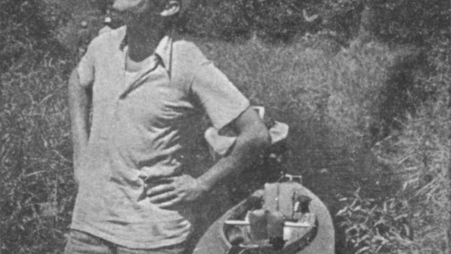 Karol Wojtyła na spływie kajakowym